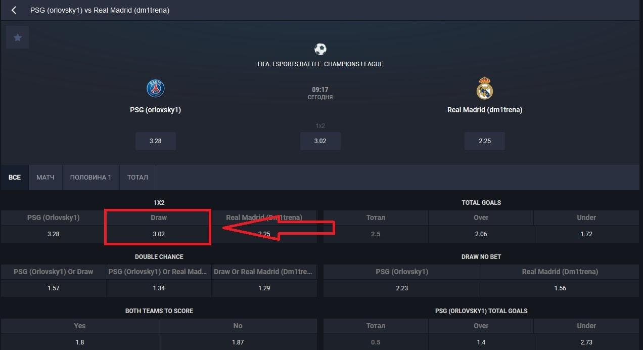 кибер матч «ПСЖ» - «Реал» Мадрид